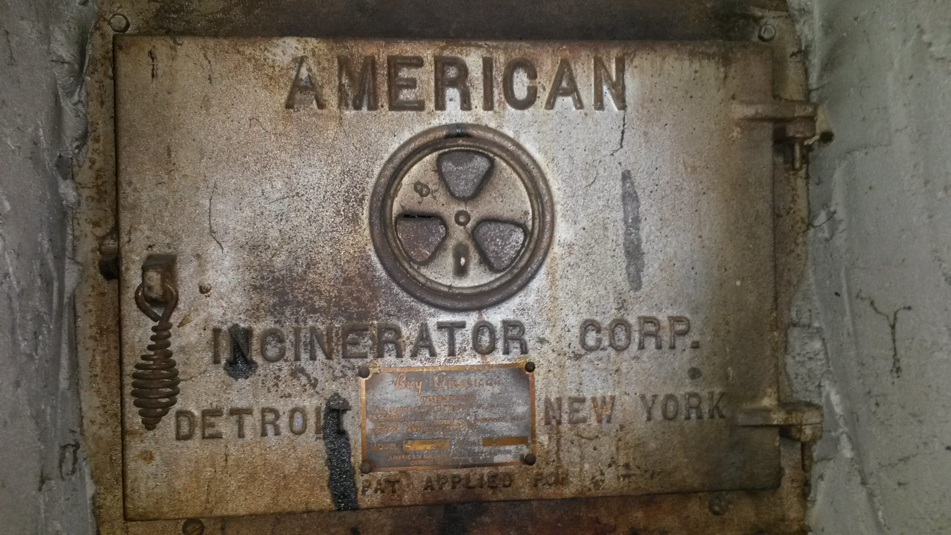 American Incinerator Corporation Stuff In Your House